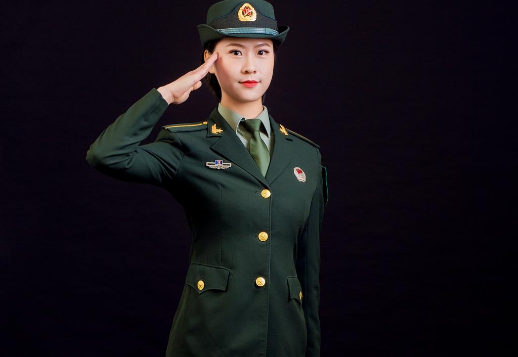 云阳姑娘参加庆祝新中国成立70周年大阅兵