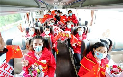 回家的感觉真好!——重庆支援湖北医疗队垫江第一批队员回家侧记