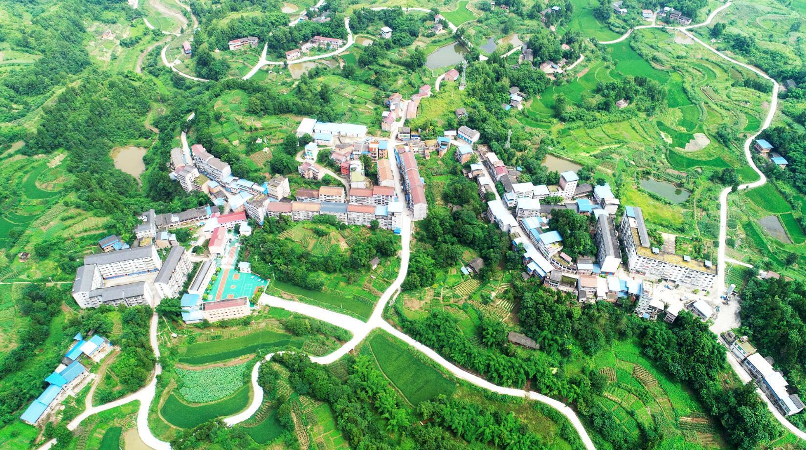 重庆忠县:显周村走上小康路
